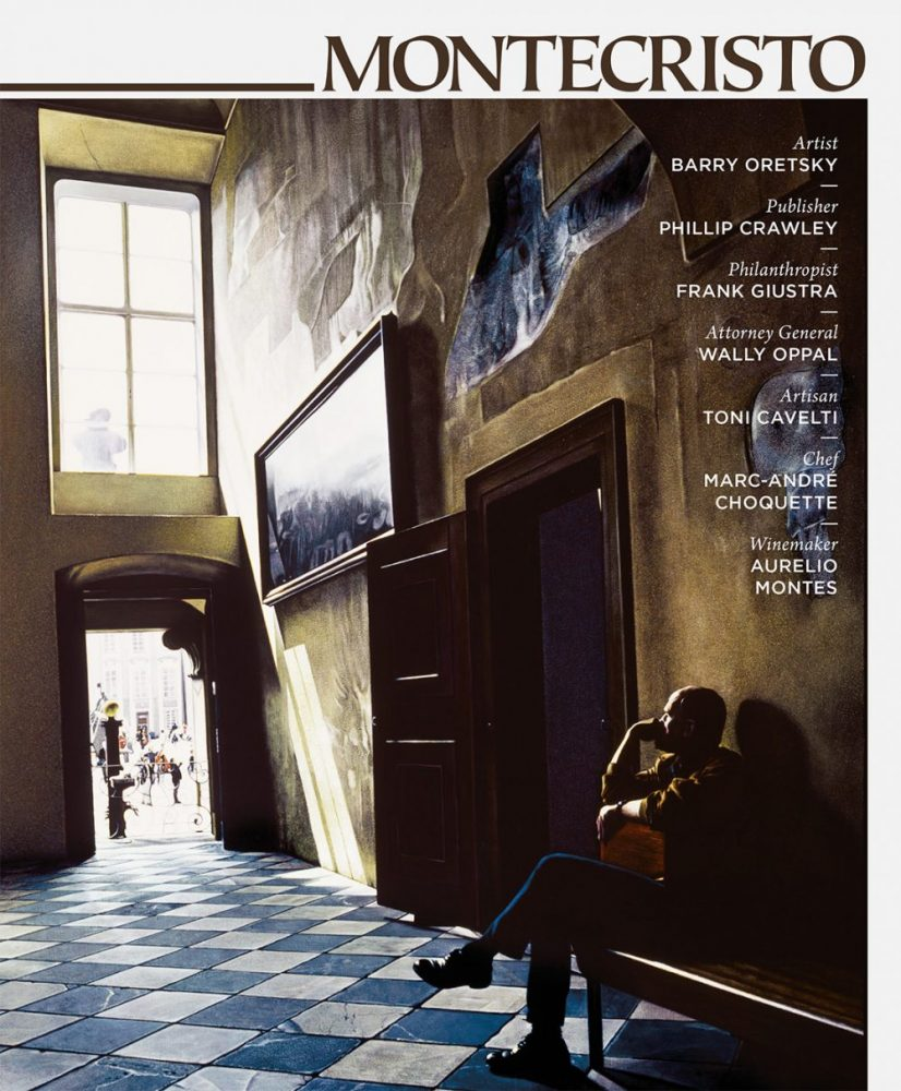 MONTECRISTO Magazine Winter 2008 Cover with artwork by Barry Oretsky