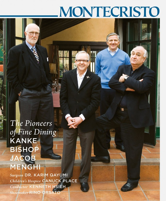 MONTECRISTO Magazine Spring 2009 Cover - Bud Kanke, John Bishop, Michel Jacob, Umberto Menghi