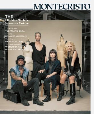 MONTECRISTO Magazine Spring 2010 Cover - Vancouver Fashion Designers