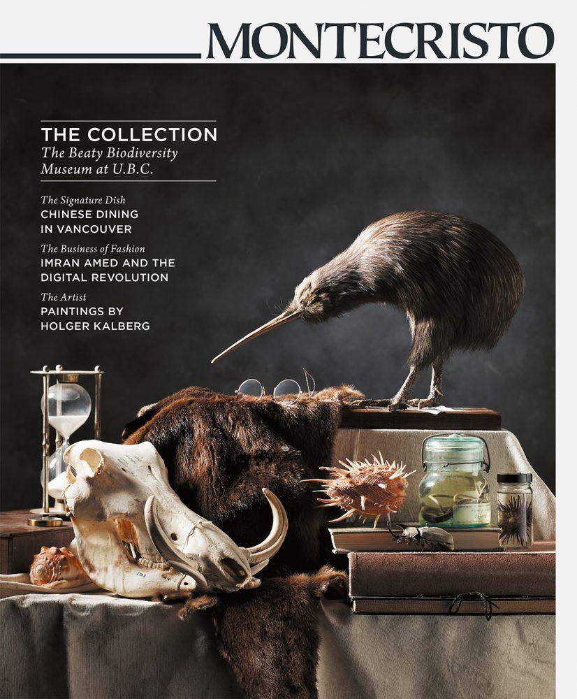 MONTECRISTO Magazine Winter 2010 Cover - The Beaty Biodiversity Museum