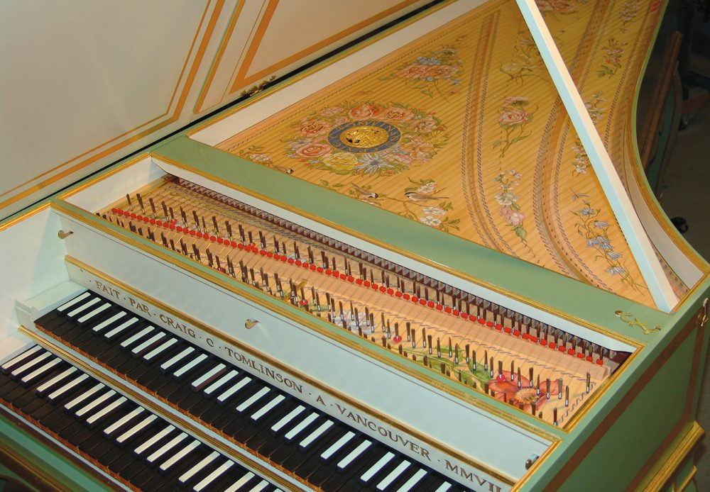 Craig Tomlinson Harpsichords