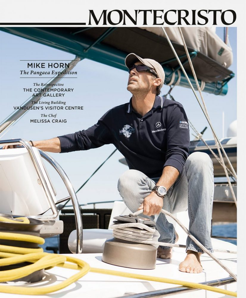 MONTECRISTO Magazine Winter 2011 Cover - Mike Horn and the Pangaea Expedition
