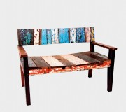 MONTECRISTO: Reclaimed wood furniture