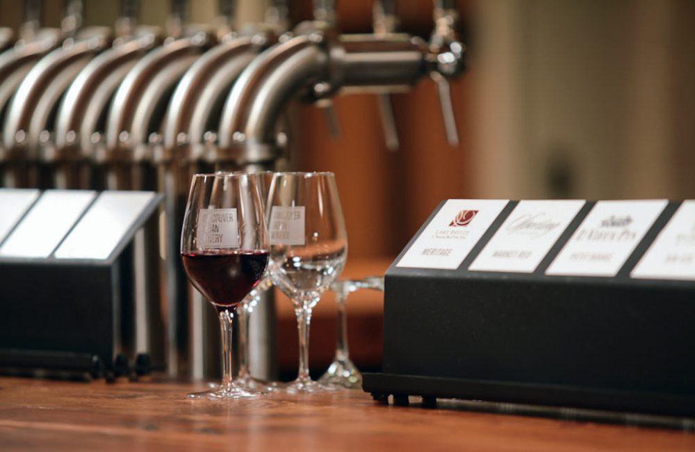 MONTECRISTO: Wines on tap.