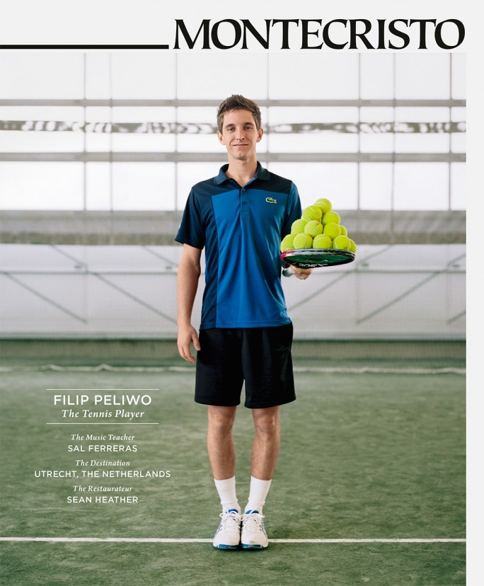 MONTECRISTO Summer 2013 Cover - Filip Peliwo