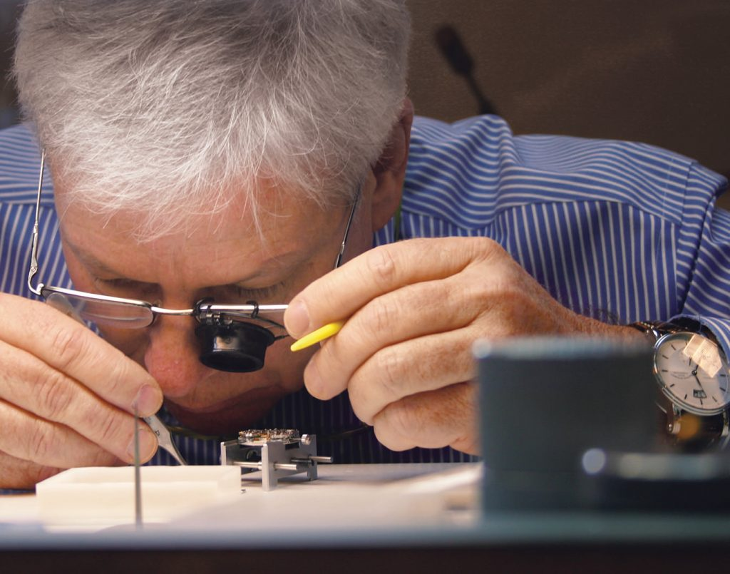 Watchmaker Jean-Jacques Maurer