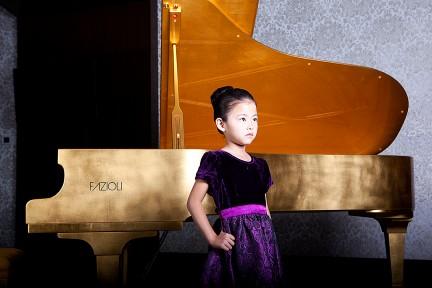 MONTECRISTO Blog: 18 Karat Gold Leaf Fazioli Piano