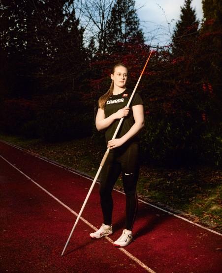 MONTECRISTO Magazine: Javelin Thrower Liz Gleadle