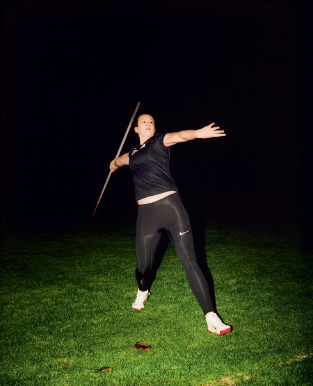 MONTECRISTO Magazine: Javelin Thrower Liz Gleadle