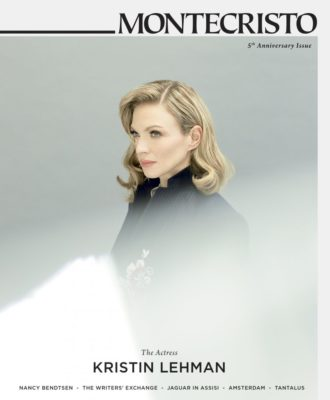 MONTECRISTO Winter 2013 Cover featuring Kristin Lehman