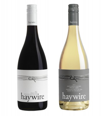 MONTECRISTO Blog: Haywire Pinot Gris and Pinot Noir