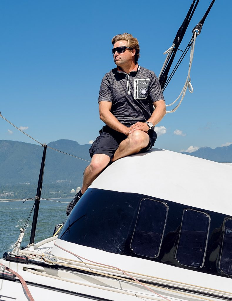 non stop yacht essay