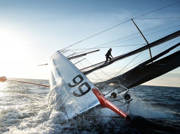 Extreme Sailing and the British Skipper Who Raced Up His 100-Foot Mast