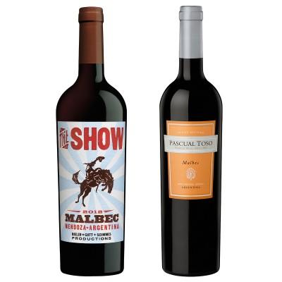MONTECRISTO Blog: The Show and Pascual Tosco Malbecs