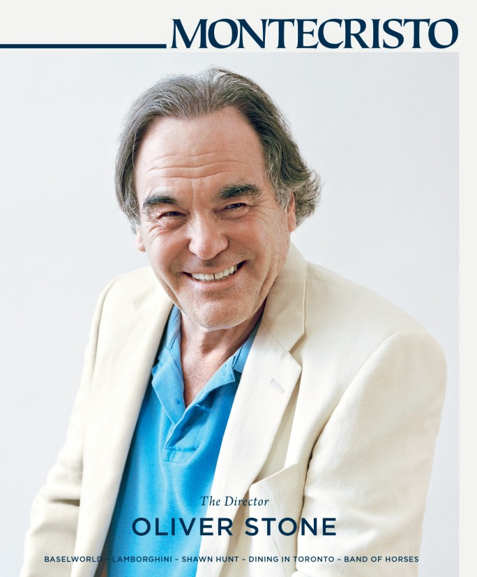 MONTECRISTO Summer 2014 issue featuring Oliver Stone.