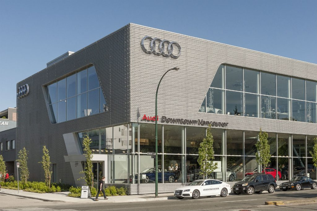 MONTE Blog: Audi Downtown Vancouver