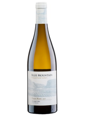 MONTE Blog: Blue Mountain Pinot Blanc