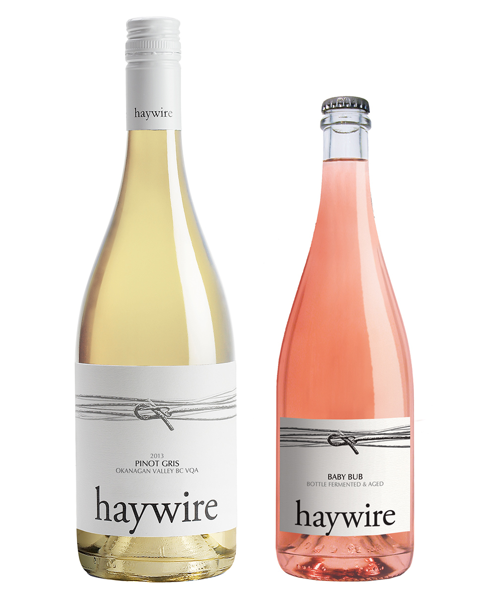 MONTECRISTO Blog: Haywire Pinto Gris and Baby Bub Pink