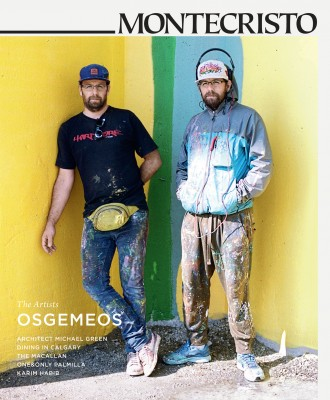 MONTECRISTO Autumn 2014 issue featuring OSGEMEOS.
