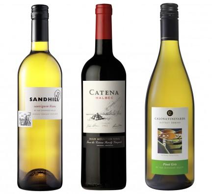 MONTECRISTO Blog: Calona, Catena, and Sandhill Wines
