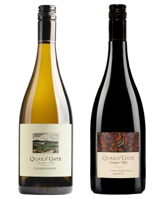 MONTECRISTO Blog: Quails' Gate Chardonnay and Foch Reserve