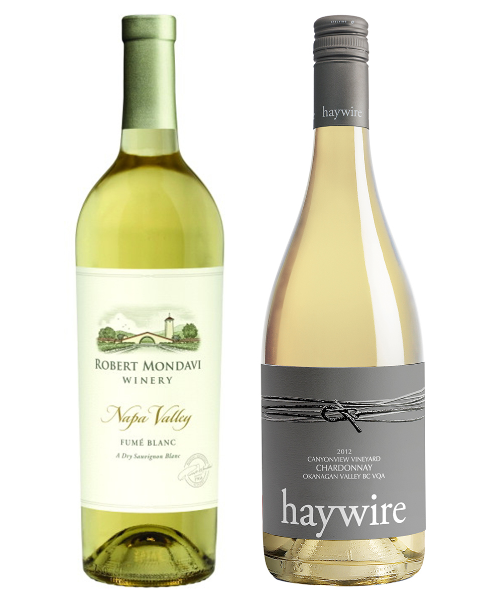 MONTECRISTO Blog: Robert Mondavi Fume Blanc and Hawyire Winery Chardonnay