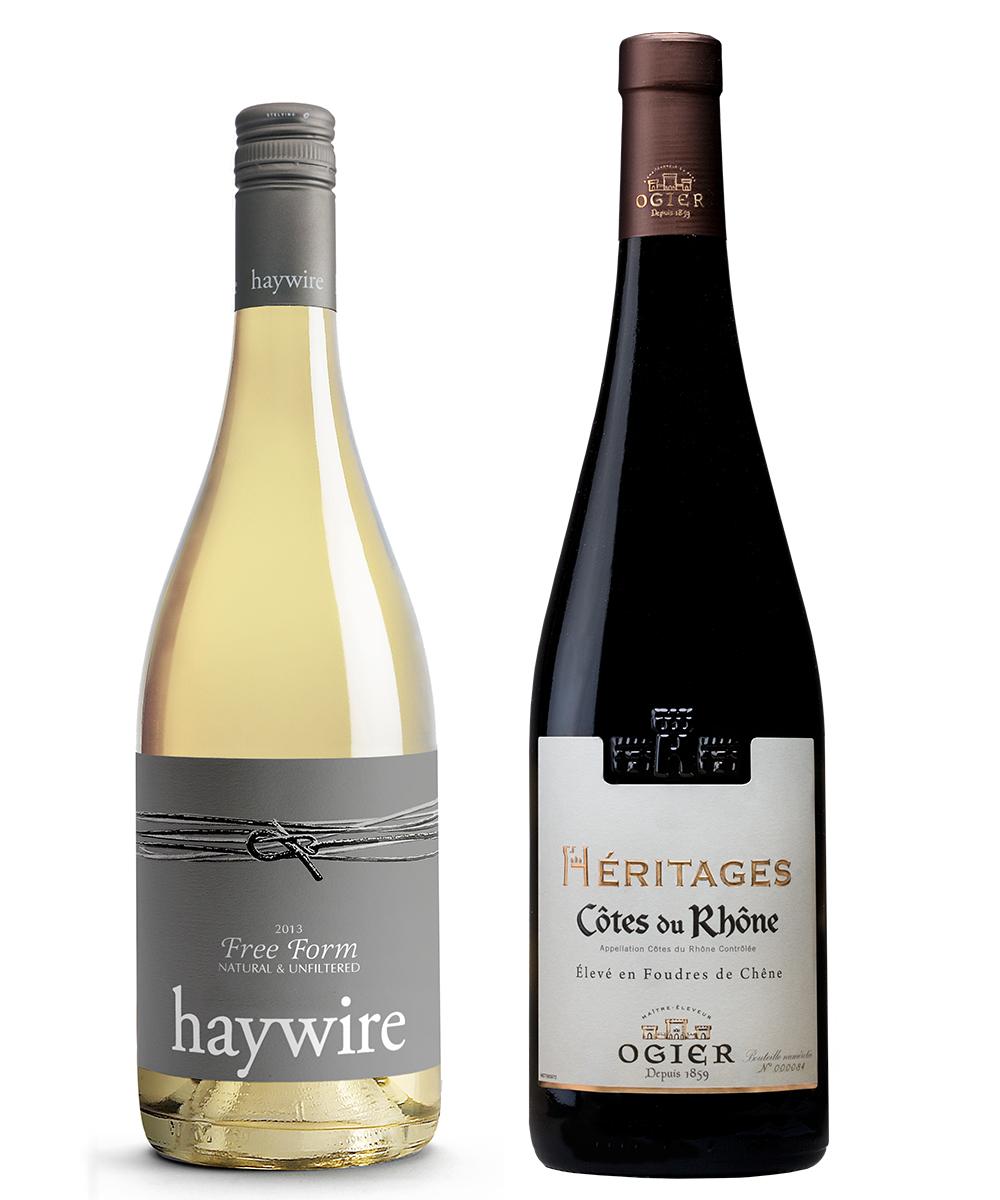 MONTECRISTO Blog: Haywire Free Form and Ogier Heritage Cotes du Rhone