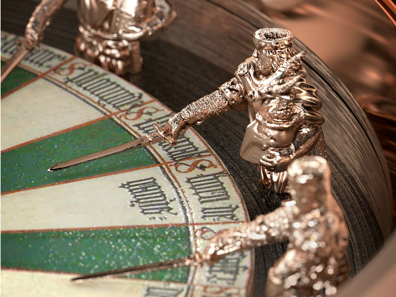 Roger dubuis excalibur round table watch montecristo for 12 knights of the round table