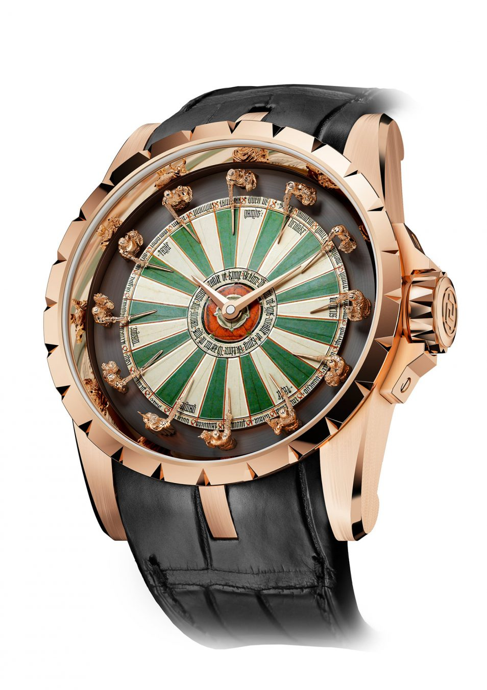 Knights Of Round Table Watch Roger Dubuis Excalibur Round Table Watch Montecristo