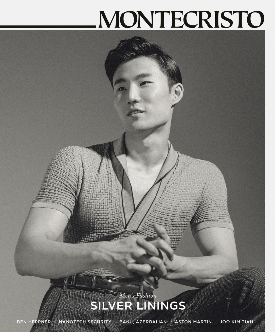 MONTECRISTO Spring 2015 Issue Featuring Men's Fashion Model Sang