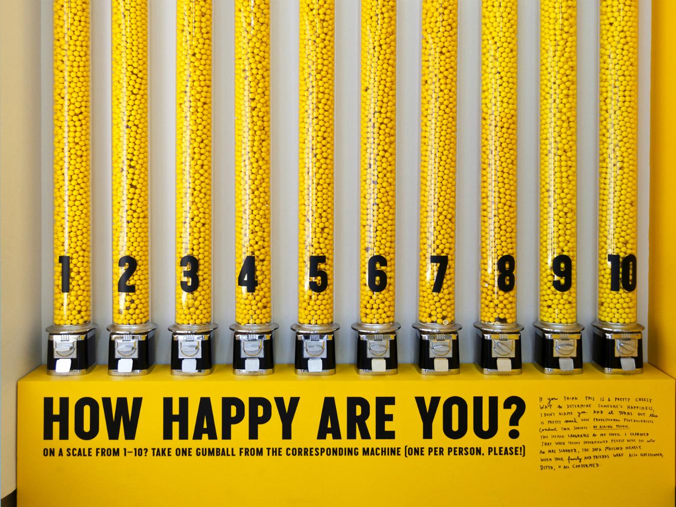 MONTECRISTO Blog: Stefan Sagmeister's The Happy Show