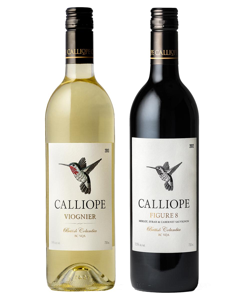 MONTE Blog: Calliope Viognier and Figure 8 Red