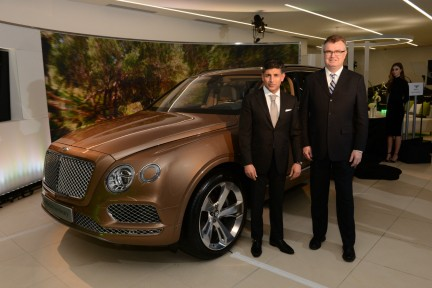 MONTE Blog: Bentley CEO