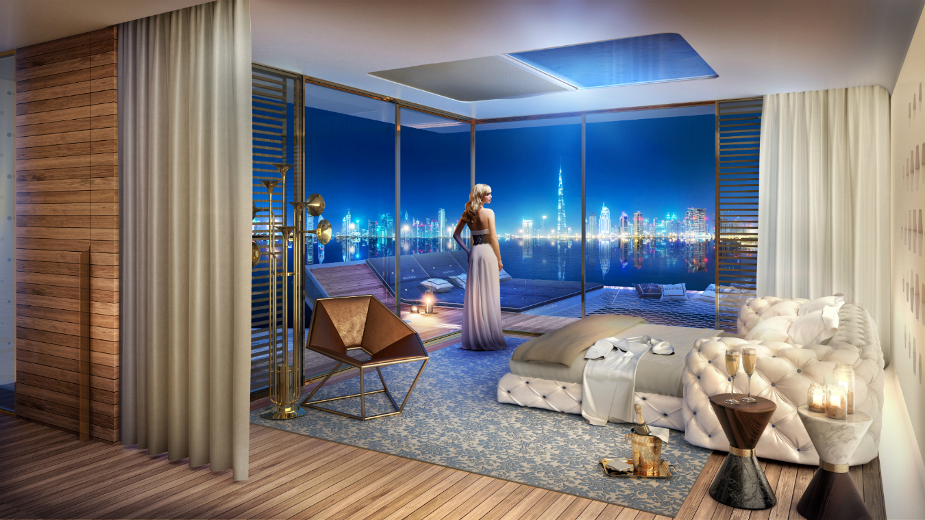 Dubai s sweden island with bentley home montecristo - The floating homes of dubai luxury redefined ...