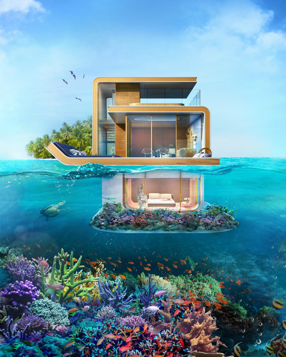 Dubai's Sweden Island With Bentley Home