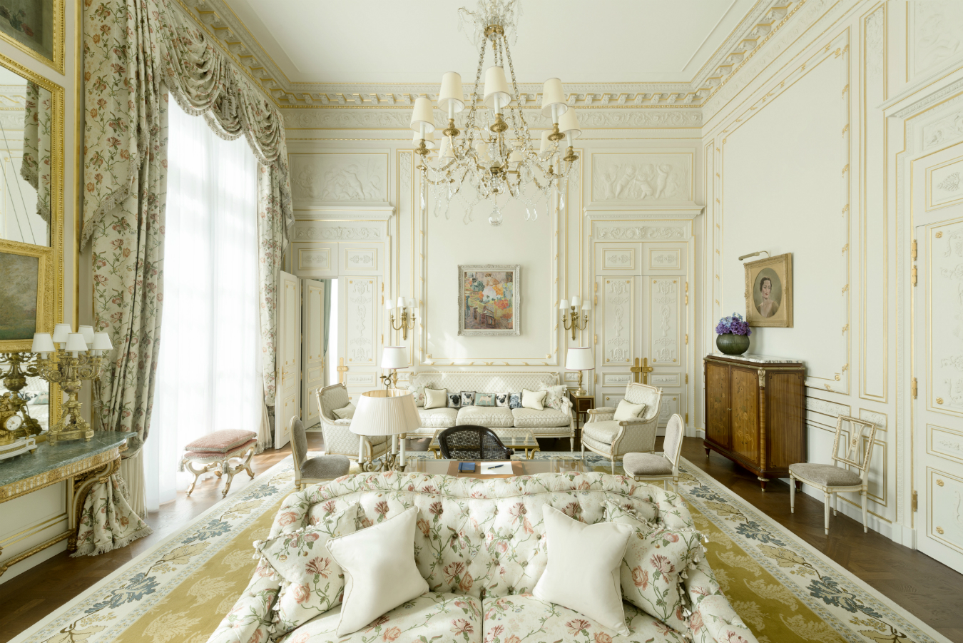 Inside the Hôtel Ritz Paris