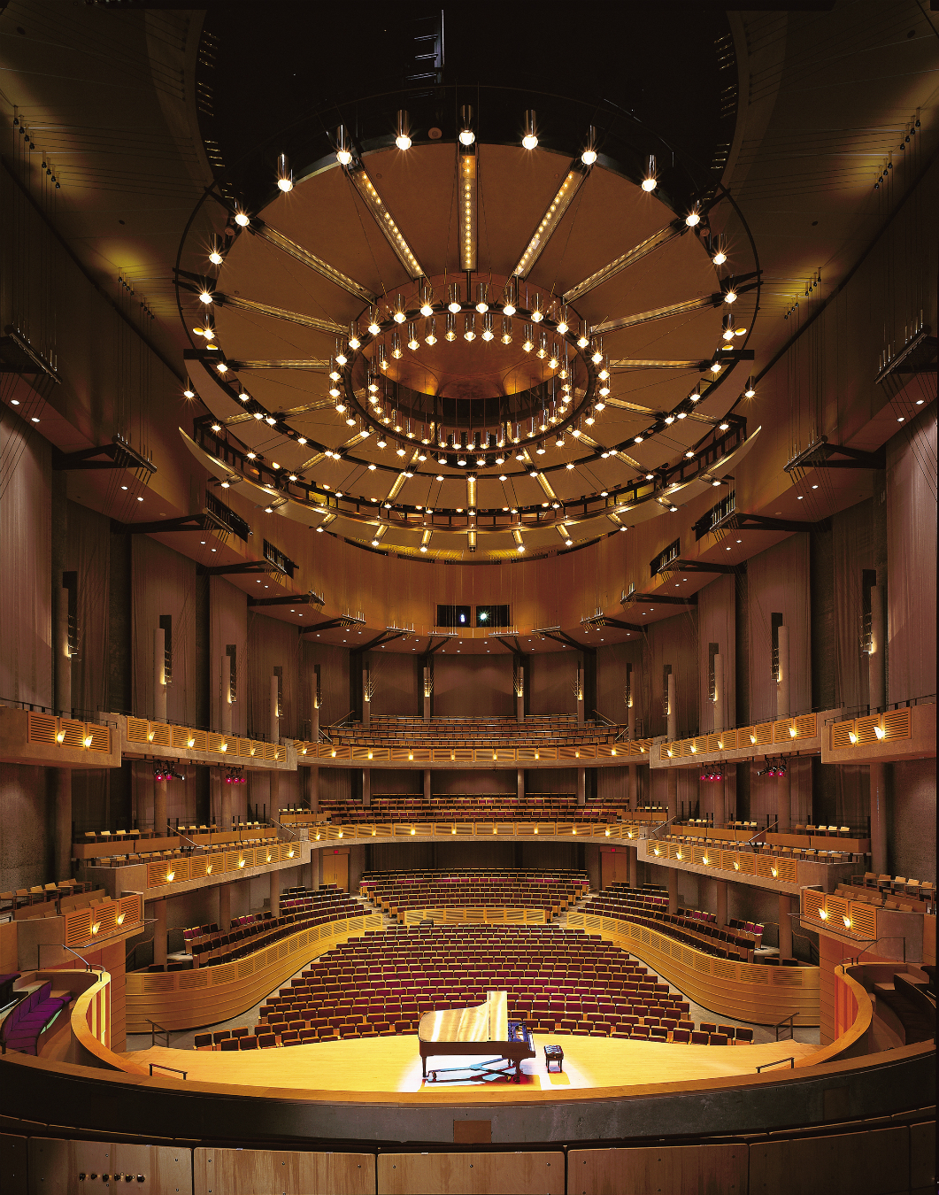 Bing Thom architecture. Chan Centre for the Performing Arts