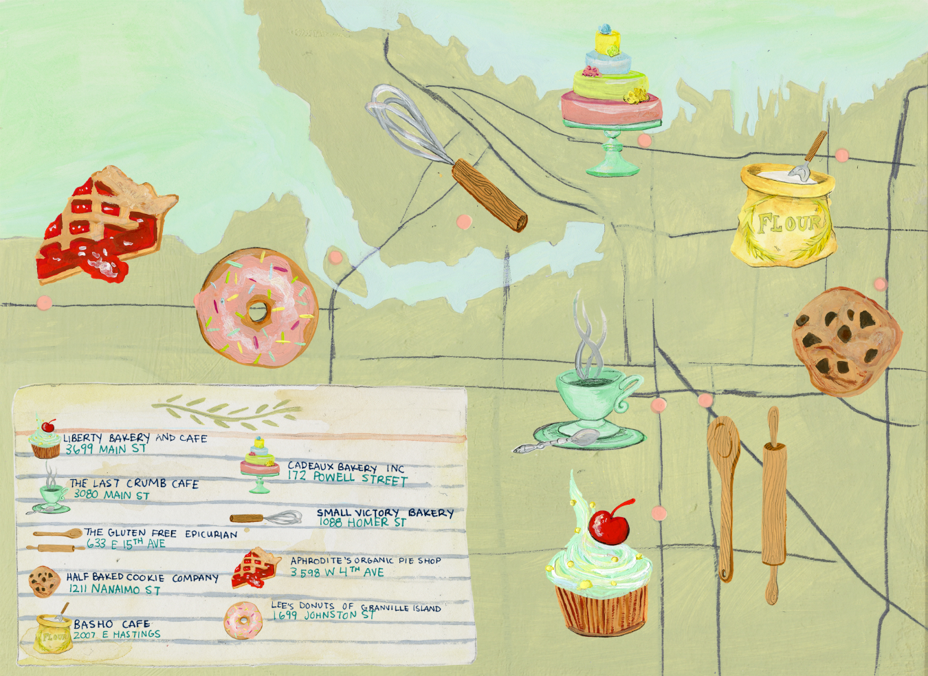 The Great Vancouver Bakery Crawl