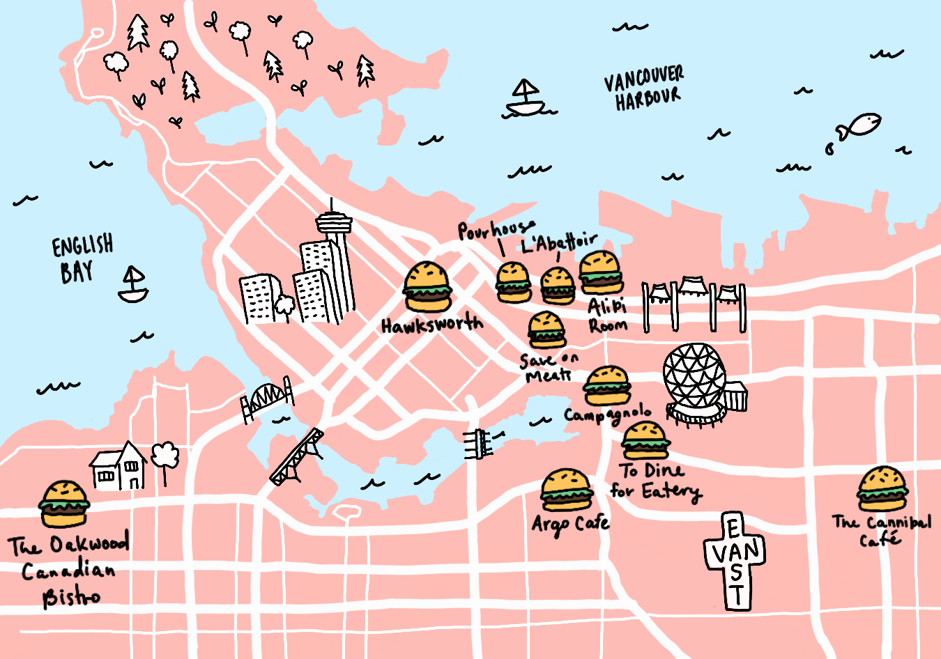 Where to Eat in Vancouver - cover