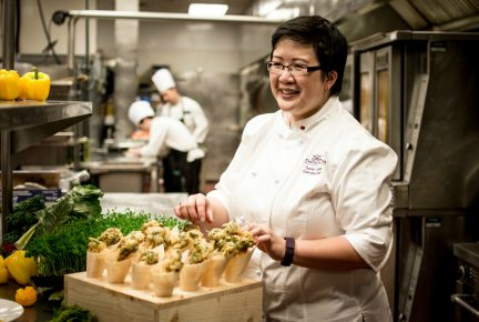 Fairmont Chateau Whistler Chef Isabel Chung