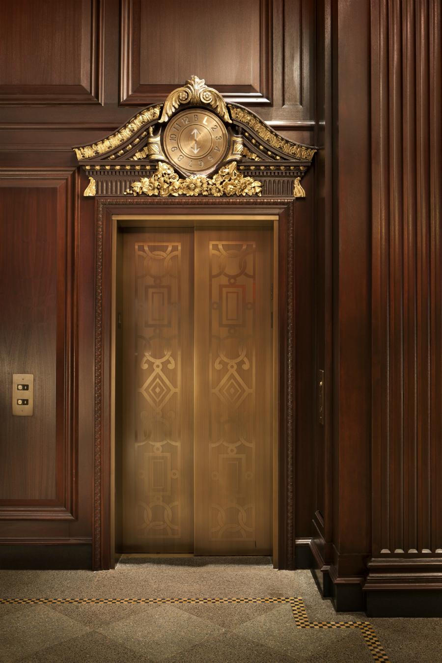 Rosewood hotel georgia vancouver montecristo for Luxury elevator