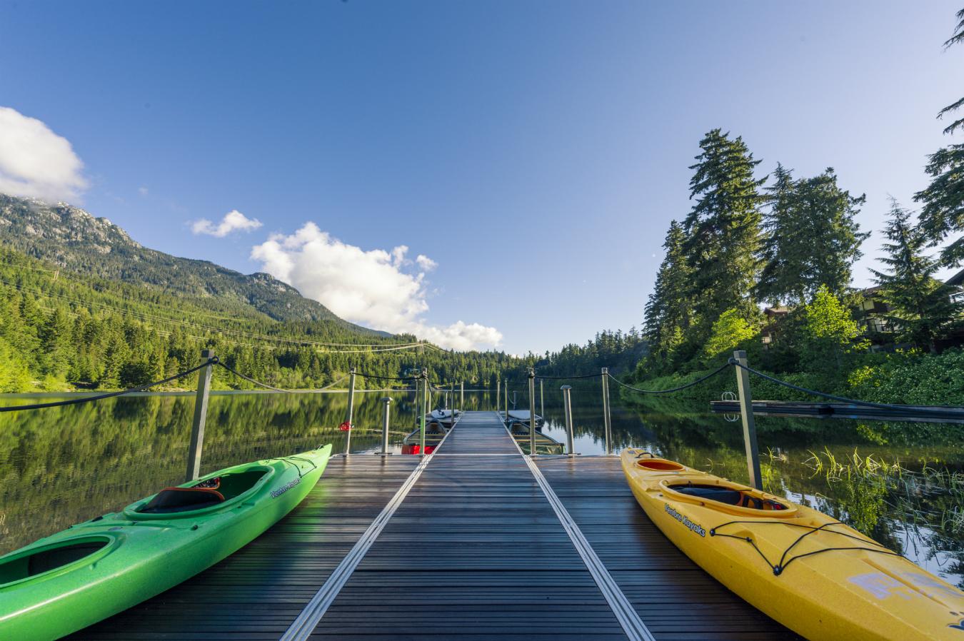 summer at nita lake lodge