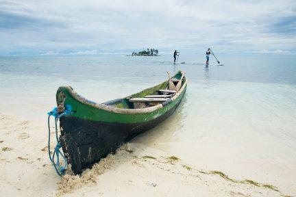 Panama river canoe trip