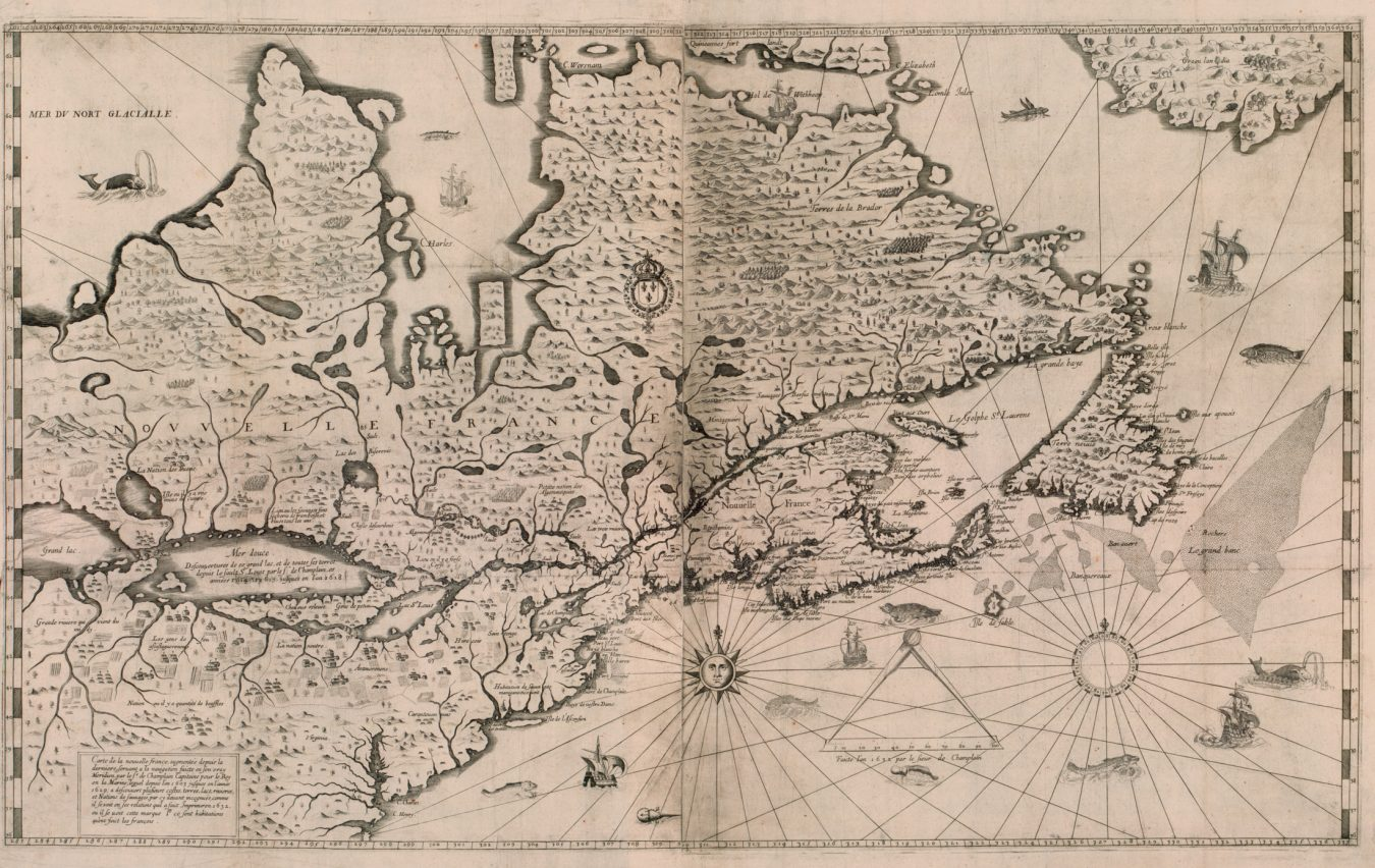 """Map Source Canada A History of Canada in Ten Maps"""" 