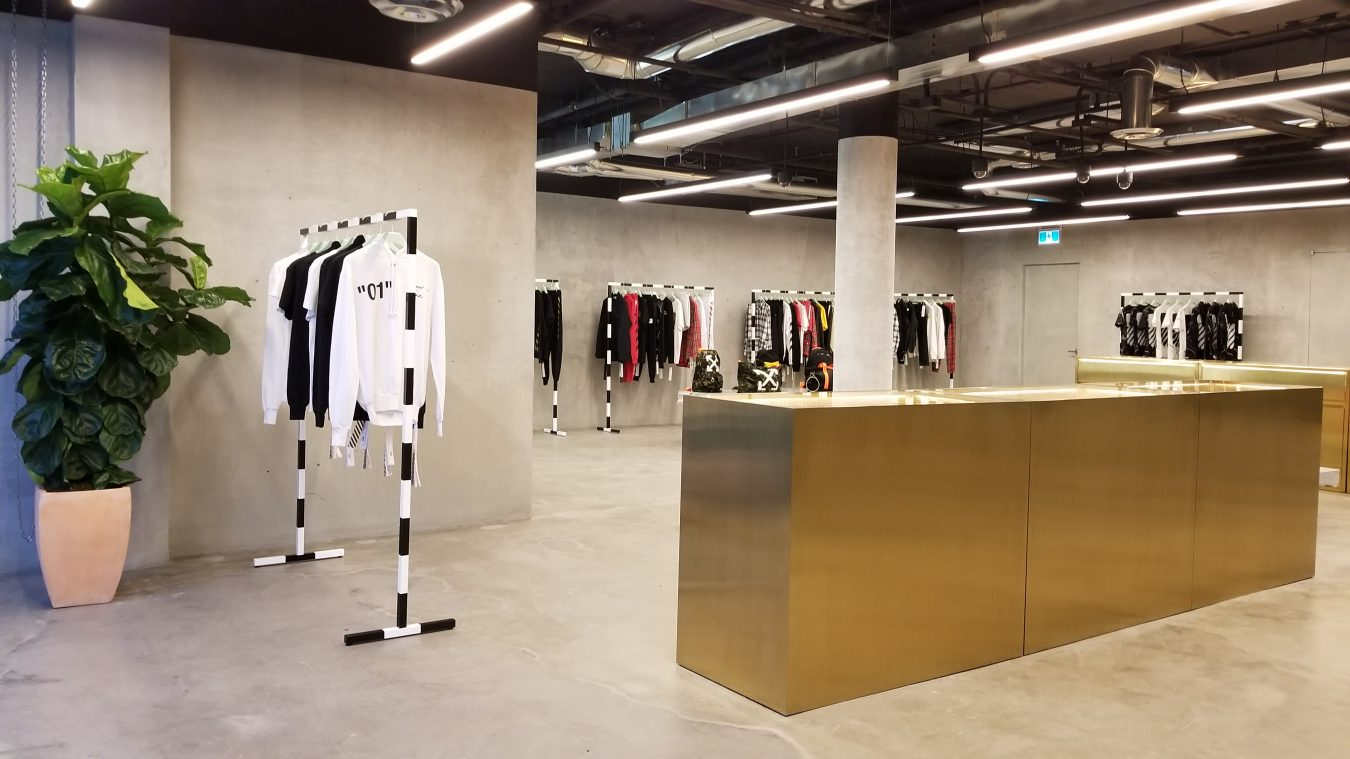 Off-White Opens Quietly in Vancouver