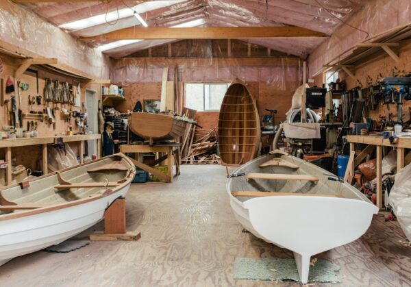Inspired By His Grandfather, He Builds Custom Wooden Boats by Hand
