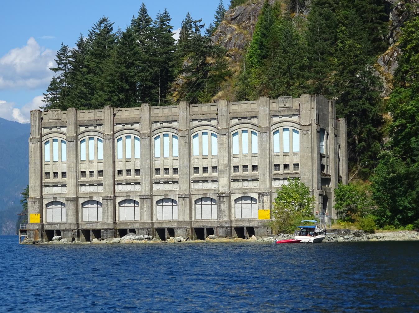 Buntzen Lake Powerhouses