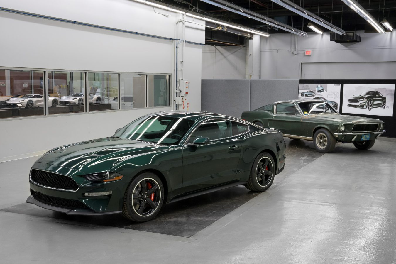 2019 Ford Mustang Bullitt Montecristo