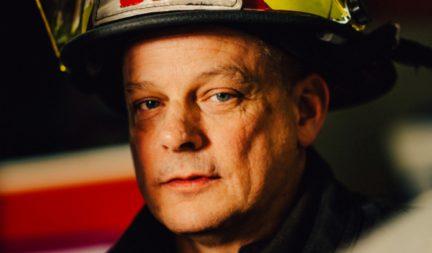 B.C. Professional Fire Fighters Association president Gord Ditchburn