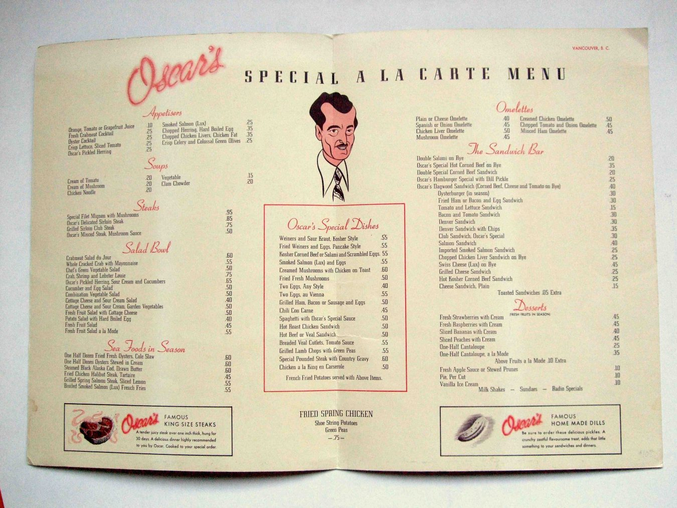 Oscar's Steakhouse and Vancouver's Forgotten Nightlife Haunts